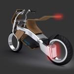 Biona – дървен мотоциклет с джобни батерии 2