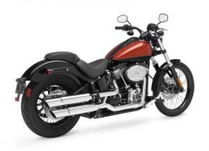 Черната линия на Harley Davidson 01