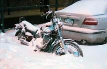 Раззимяване на мотоциклет 03