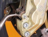 Как да сменим накладките на мотоциклета? 3