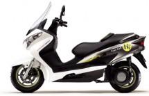 Suzuki Burgman – скутер, задвижван с водород 2