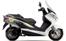 Suzuki Burgman – скутер, задвижван с водород 3