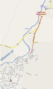 Карта на мото събор Ямбол 2011