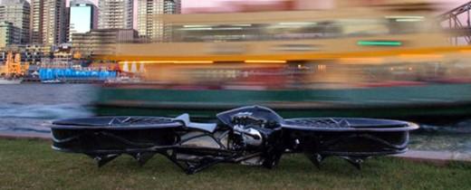 Първият летящ мотоциклет в света 01