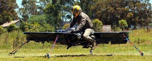 Първият летящ мотоциклет в света 02