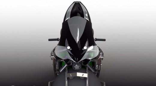 Мотоциклет със сферични колела 01