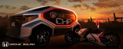 Два проекта на Honda за LA Design Challenge 02