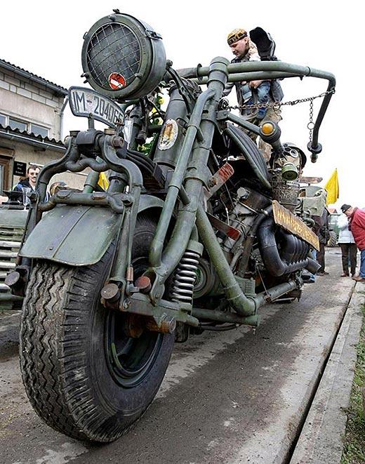 Мотоциклетен танк или танков мотоциклет? 02