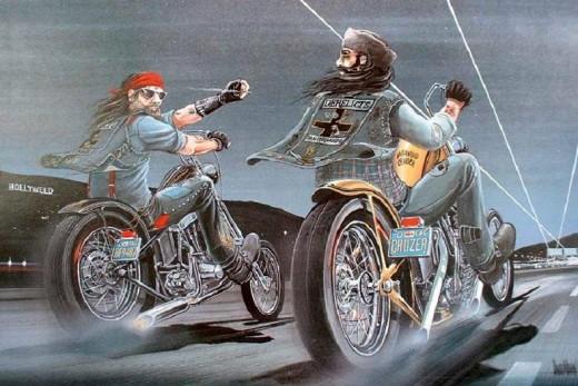 Мотоциклетното изкуство е повече от татиуровки 08