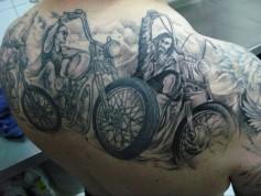 Мотоциклетното изкуство е повече от татиуровки 13
