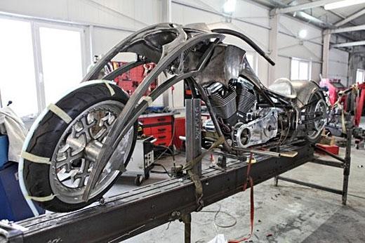"""Вижте първи реални снимки на мотоциклета """"BEHEMOTH"""" 02"""
