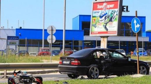 Моторист загина в тежка катастрофа във Велико Търново