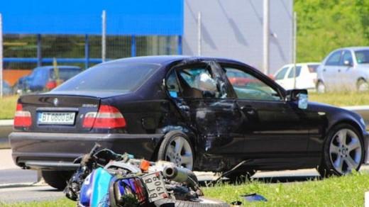 Моторист загина в тежка катастрофа във Велико Търново 01