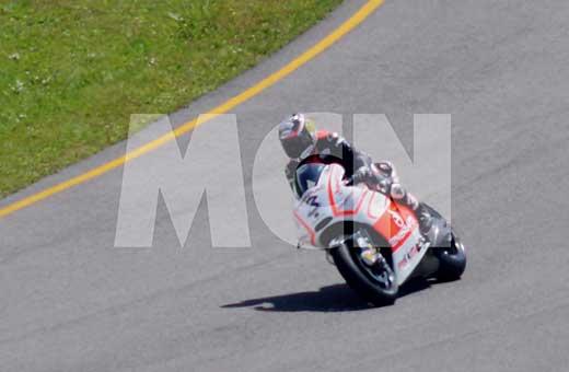 Макс Биаджи тества мотора на отбора Pramac Ducati 01