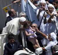 Папа Франциск благослови рокерите 02
